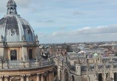 Oxford-Stadt Stockbild
