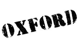 Oxford stamp rubber grunge Stock Photos