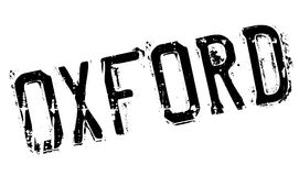 Oxford stamp rubber grunge Royalty Free Stock Image