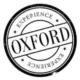 Oxford stamp rubber grunge Stock Photography
