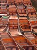 Oxford-Stocherkähne Stockbilder