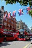 Oxford-Straße London Lizenzfreies Stockfoto