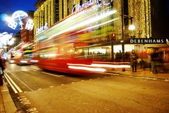 Oxford Street Royalty Free Stock Photos