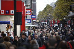 Oxford Street Stock Photography