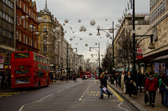 Oxford Street Stock Photo