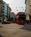 Oxford Street Royalty Free Stock Photography
