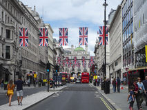 Oxford street during Brexit Royalty Free Stock Photography
