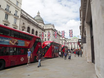 Oxford street during Brexit Royalty Free Stock Images