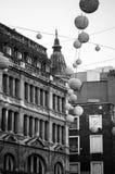 Oxford Street before Christmas Royalty Free Stock Photos