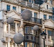Oxford Street before Christmas Stock Photo