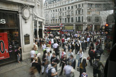 Oxford Street in London Stock Photos