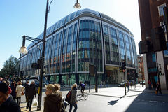 Oxford Street London Stock Image