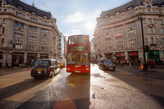 Oxford Street, London, 13.05.2014 Stock Photos