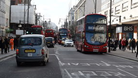 Oxford Street, London stock video footage