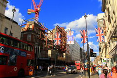 Oxford Street London UK Royalty Free Stock Photos