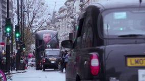 Oxford Street, Londra, Inghilterra archivi video