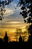 Oxford sunset Stock Image