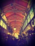 Oxford täckte marknaden Arkivfoton