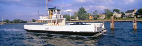 Oxford to Bellevue Ferry,. Continuous use from 1683 to 1836, Maryland Royalty Free Stock Photography