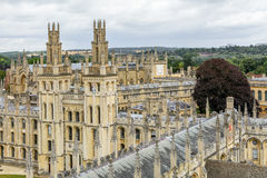 Oxford, United Kingdom - August 21, All Souls College, Oxford Un. Iversity on August 21, 2016 in Oxford, United Kingdom. All Souls College is a constituent Stock Photos