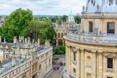 Oxford, United Kingdom - August 21, Radcliffe Camera on August 2 Stock Image