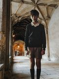 College corridors. Oxford, United Kingdom stock photos