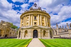 Radcliffe Camera, room addition to the Bodleian Library in Oxfor Royalty Free Stock Images