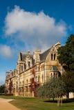 Oxford. Universidad de la iglesia de Cristo Imagenes de archivo