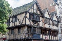 Oxford universitet England Arkivfoton