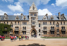Oxford universitet England Arkivbilder
