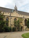 Oxford universitet för högskola för St John ` s royaltyfri foto