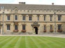 Oxford universitet för högskola för St John ` s royaltyfri fotografi