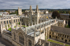 oxford universitetar Royaltyfria Bilder