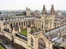 Oxford universitetar fotografering för bildbyråer