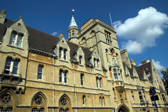 Oxford University's  Balliol Royalty Free Stock Photography
