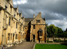 Oxford University. Picture of the building of the Oxford University (UK Stock Images