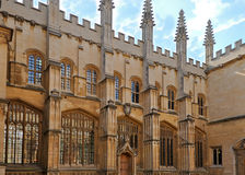 Oxford University. Bodleian Library at Oxford University, England Stock Images