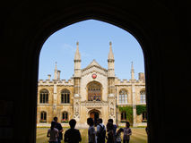 Oxford University architecture. Royalty Free Stock Images