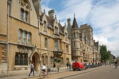 Oxford University, Balliol College Royalty Free Stock Photos
