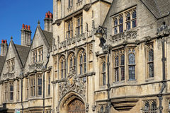 Oxford University Brasenose College Royalty Free Stock Image