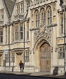 Oxford University Brasenose College Stock Image