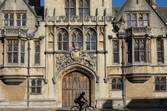 Oxford University, Brasenose College Stock Images