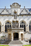 Oxford University Building in England Stock Image