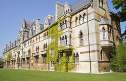 Oxford University Buildings in England Stock Photography