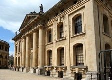 Oxford University, Clarendon Building Royalty Free Stock Photo