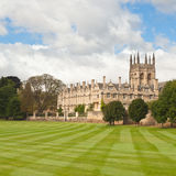 Oxford University College buildings Royalty Free Stock Photos