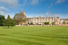 Oxford University College buildings Stock Photography