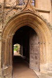 Oxford University / college old door, England Stock Photos
