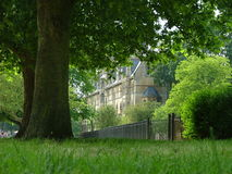 An Oxford University college in the summer Royalty Free Stock Images