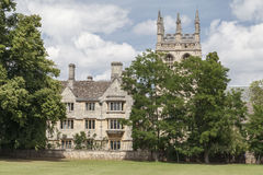 Oxford University England Stock Photo